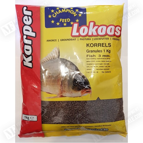 CHAMPION FEED Karp Korrels 3 mm / Granules 1kg