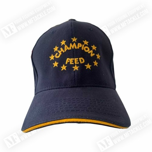 CHAMPION FEED Blue Cap Yellow Bord