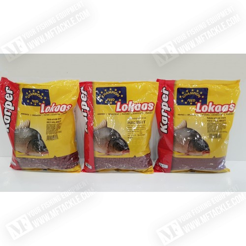 CHAMPION FEED Halibut Pellets RED 1kg
