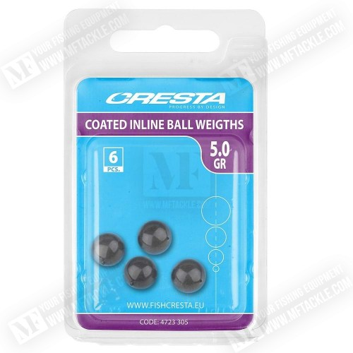 CRESTA Coated Inline Ball Weights