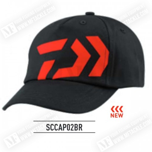 DAIWA Cap Spit 01 Black - Red