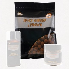 DYNAMITE BAITS Spicy Shrimp and Prawn Boilies 1kg